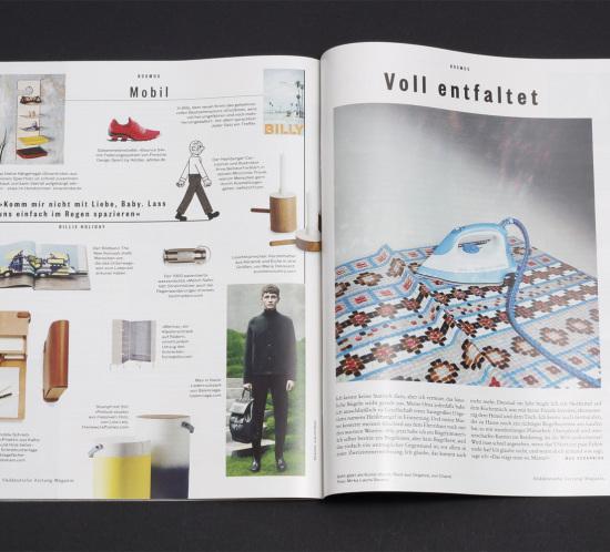 SZ Magazin, Designregal,